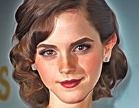 Emma Watson - Cartoon