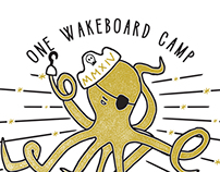 Wakeboard Camp Octopus T-Shirt