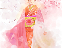 SyoChikuBai -KIMONO girls of the celebration-