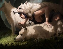 Princess' wolves