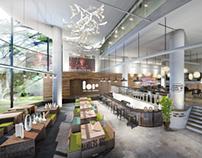 Lowercase Cafe | Interior Design