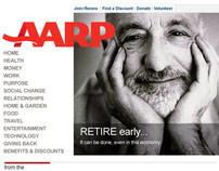 AARP Website - 2010 Refresh