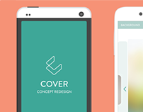 Cover Android App Redesign