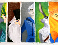 The Rise of the Guardians (Painting)