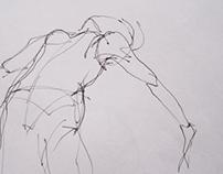 dancing&drawing