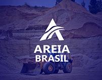 Design de Logotipo - Areia Brasil