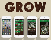 GROW app design