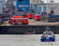 2014-04-17 Gabelstaplerfahrer in der Elbe ertrunken
