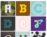 36 days of type - Letters A - Z