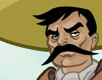 Zapata Character Design