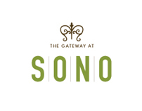 The Gateway at SONO - Logo Mockups