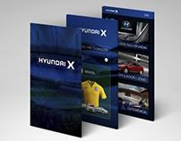 App - Hyundai X (Fictício)
