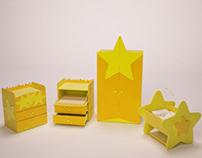 "Childrens room furniture ""stars"""