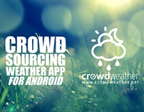 Crowd Weather Mobile app