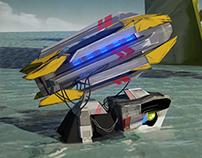 TURTLESTRIKE- game weapon design