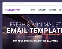 E-Newsletter Email Template