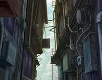 路地 backstreet