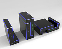 Design proposal for Meo tv Box, Router and Remote