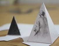 Dibujos en Pirámides