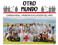Red Cross Voluntary work: layout for magazine