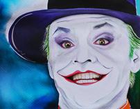 JOKER Jack Nicholson Batman 1989 (ECOLIN)
