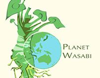 Planet Wasabi - Logo (Japan)