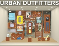 UO visual merchandising
