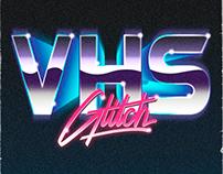 VHS Glitch Logos.