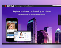 Globle Landing Page