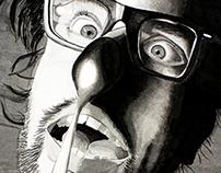 Reflections: Inkwash Illustration (Fall 2013)