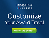 United Mileage Plus Interactive Demo for Award Travel