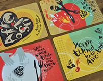 Nando's Afro Luso Placemats