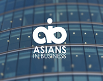 Asians In Business AIB - Logo Design