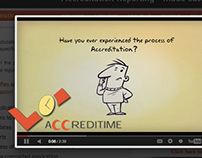 AccrediTime - Art Direction, Branding, Video, Graphics
