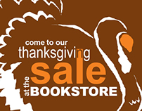 Thanksgiving Sale and Food Drive