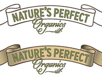 Logo for organic products startup