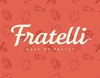 Identidad de marca - Fratelli casa de pastas