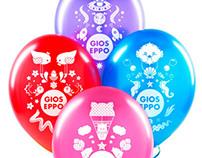 Balloons Illustrations