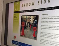 ARROW SIGN WEBSITE