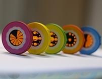 Magnetic OLED Timer