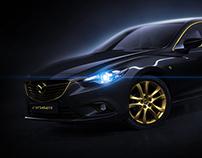 BLACK & GOLD Mazda 6