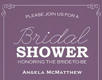 Bridal Shower | Invitations