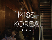 Miss Korea Toronto web design