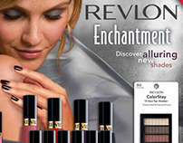 Revlon Enchantment Holiday Counter Display