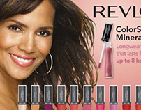 Revlon ColorStay® Mineral Lipglaze Counter Display