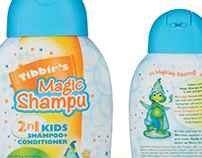 Tibbir's Magic Shampu Packaging