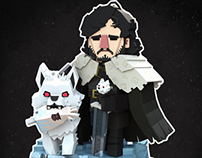 Mini Jon Snow