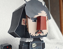 Paper Toy Mini Jon Snow