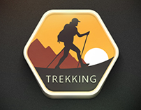 Trekking badge