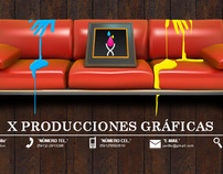 X Producciones Gráficas (WEB)